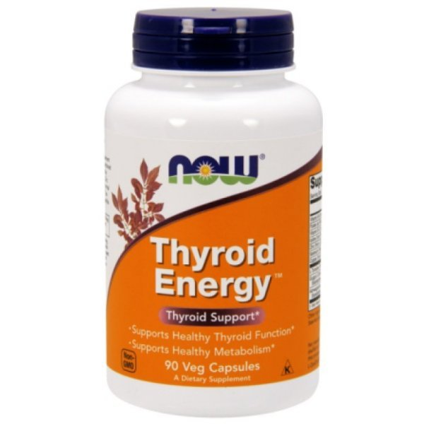 NOW Thyroid Energy 90 капсулиNOW3368