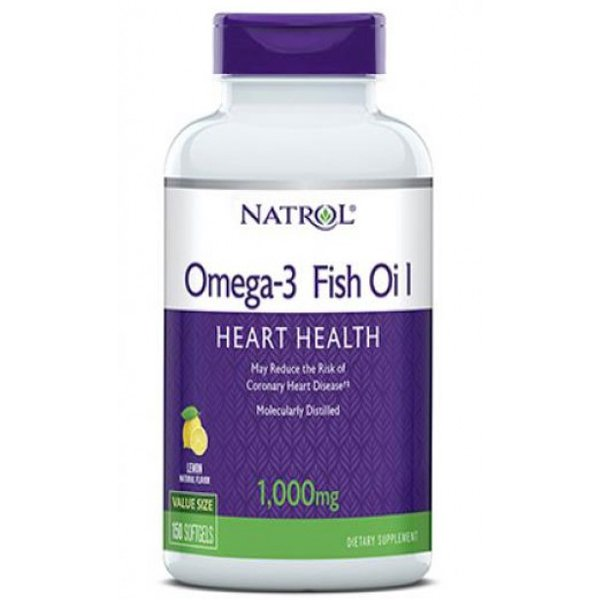 Natrol  Omega-3 Fish Oil 150 дражетаNAT437