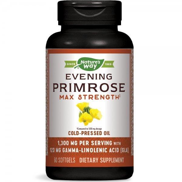 Nature's Way Evening Primrose Oil 1300 мг 60 капсули15418