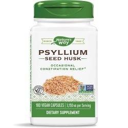 Nature's Way Psyllium 525 мг 180 капсули