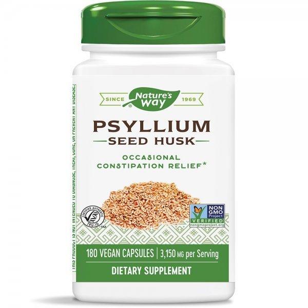 Nature's Way Psyllium 525 мг 180 капсули15354