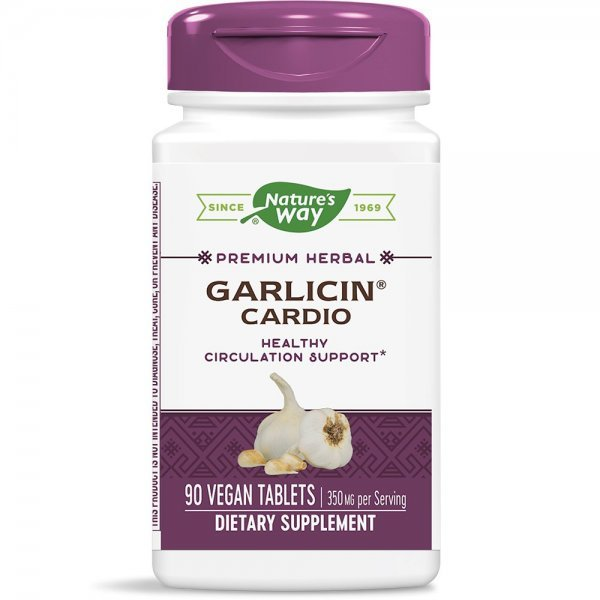 Nature's Way Garlicin Cardio 350 мг 90 капсули6793