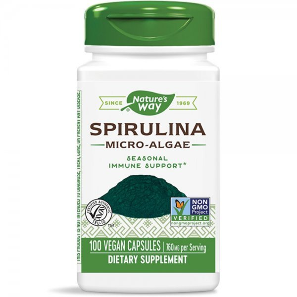 Nature's Way Spirulina 380 мг 100 капсули17200