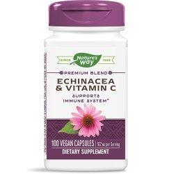 Nature's Way Echinacea &Vitamin C 492 мг 100 капсули