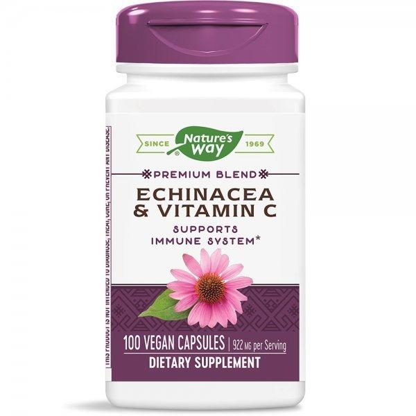 Nature's Way Echinacea &Vitamin C 492 мг 100 капсули417