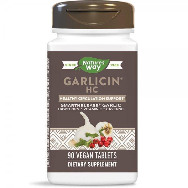 Nature's Way Garlicin НС 400 мг 90 таблетки6794