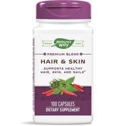 Nature's Way Hair & Skin 600 мг 100 капсули