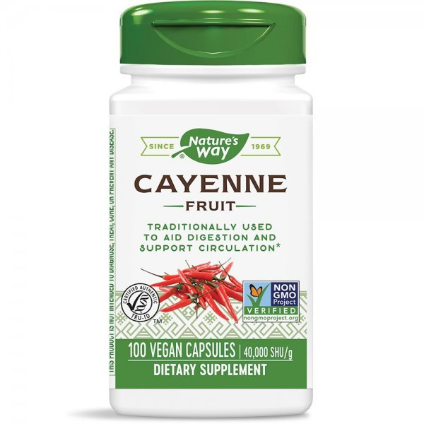 Nature's Waу Cayenne 450 мг 100 капсули11500