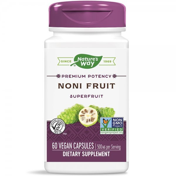 Nature's Way Noni Fruit 500 мг 60 капсули15386