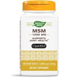 Nature's Way MSM 1000 мг 200 таблетки