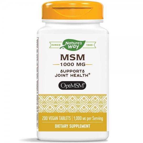 Nature's Way MSM 1000 мг 200 таблетки15133