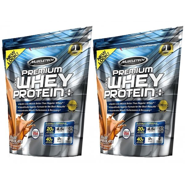 MuscleTech Premium Whey Protein X2 StackMuscleTech Premium Whey Protein Combo