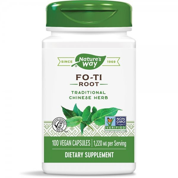 Nature's Way Fo-Ti Root 610 мг 100 капсули12900