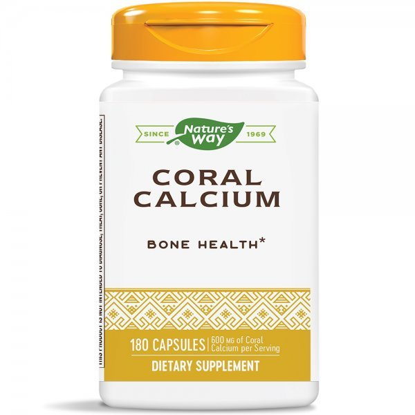 Nature's Way Coral Calcium 805 мг 180 капсули15232