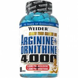 Weider L-Arginine + L-Ornithine 4000 180 капсули
