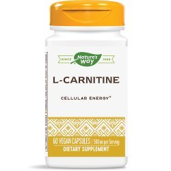 Nature's Way L-Carnitinе 500 мг 60 капсули