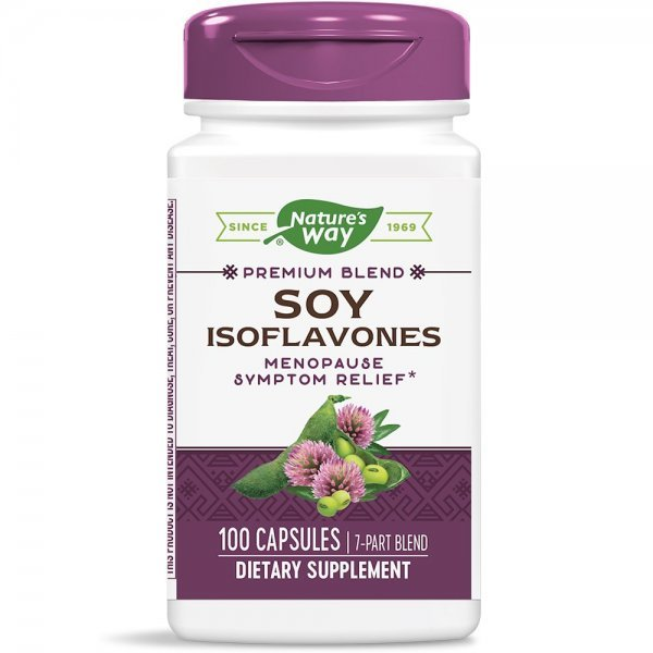 Nature's Way Soy Isoflavones 500 мг 100 капсули45210