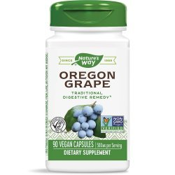 Nature`s Way Oregon Grape Root 500 мг 90 капсули