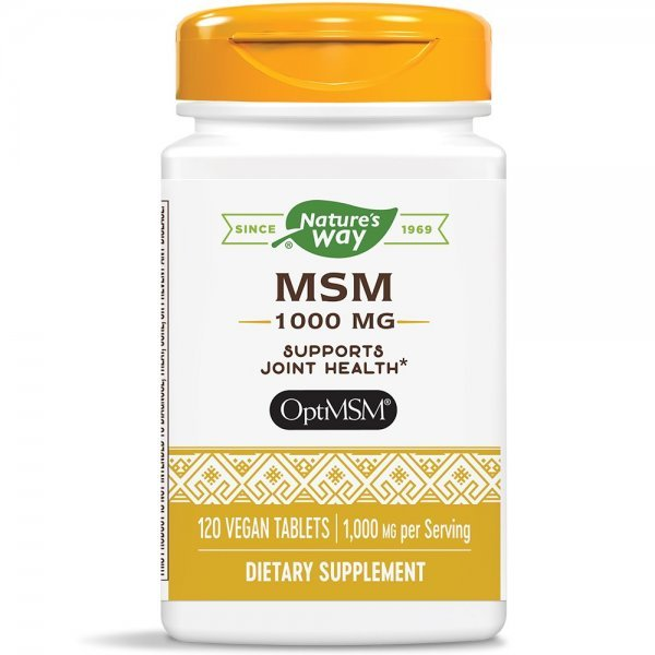 Nature's Way MSM 1000 мг 120 капсули15132