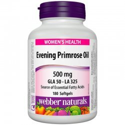 Webber Naturals Evening Primrose Oil 500 мг 180 дражета