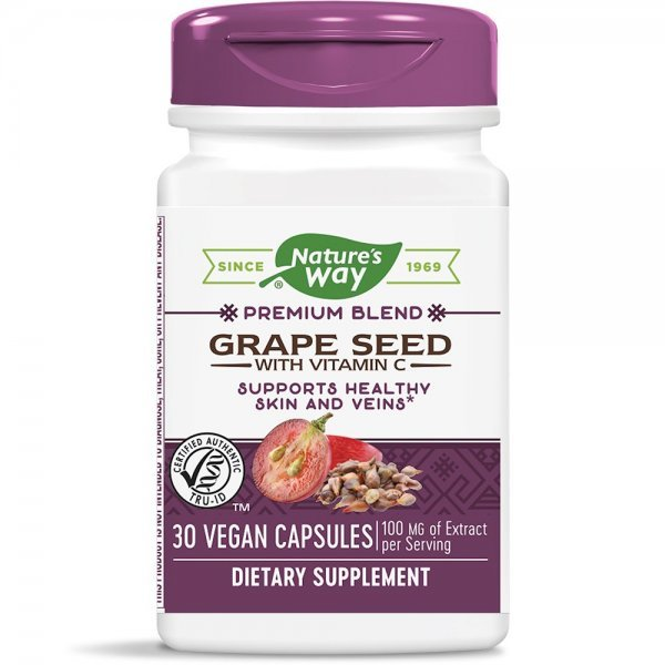 Nature's Way Grape Seed 300 мг 30 капсули14320