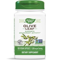 Nature`s Way Olive Leaf 500 мг 100 капсули