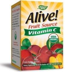 Nature's Way Vitamin C Alive 500 мг 120 гр