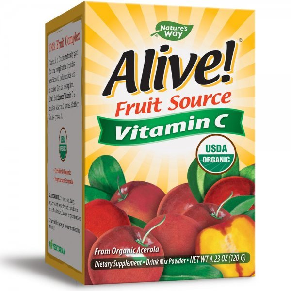 Nature's Way Vitamin C Alive 500 мг 120 гр15143