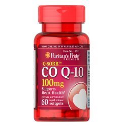 Puritan's Pride Q-SORB CO Q-10 100 мг 60 дражета