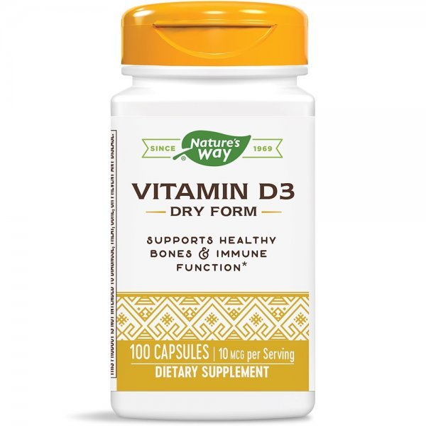Nature's Way Vitamin D 400 IU 100 капсули40141