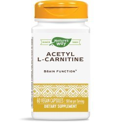 Nature's Way Acetyl L-Carnitine 500 мг 60 капсули