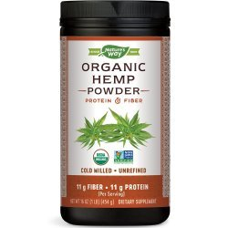 Nature's Way Hemp Protein & Fiber 454 гр