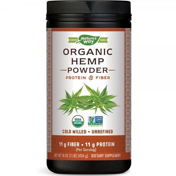 Nature's Way Hemp Protein & Fiber 454 гр15455