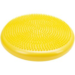 Масажен диск за баланс, 34 см, жълт