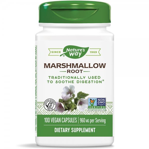Nature's Way Marshmallow 455 мг 100 капсули14800
