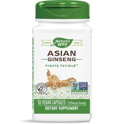 Nature's Way Asian Ginseng 560 мг 50 капсули