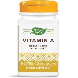 Nature's Way Vitamin A 10,000 IU 100 капсули