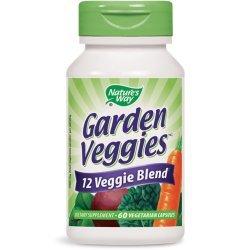 Nature's Way Garden Veggies 450 мг 60 капсули
