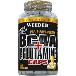 Weider BCAA + L-Glutamine 180 капсули