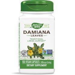 Nature's Way Damiana Leaves 400 мг 100 капсули