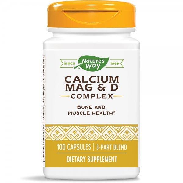 Nature's Way Calcium, Mag & Vit D 250 мг 100 капсули41420