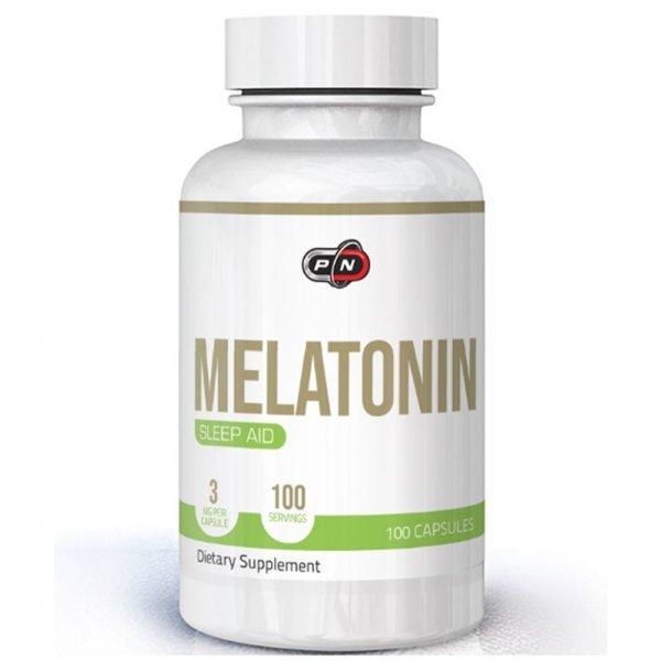 Pure Melatonin 3 мг 100 капсули PN1917