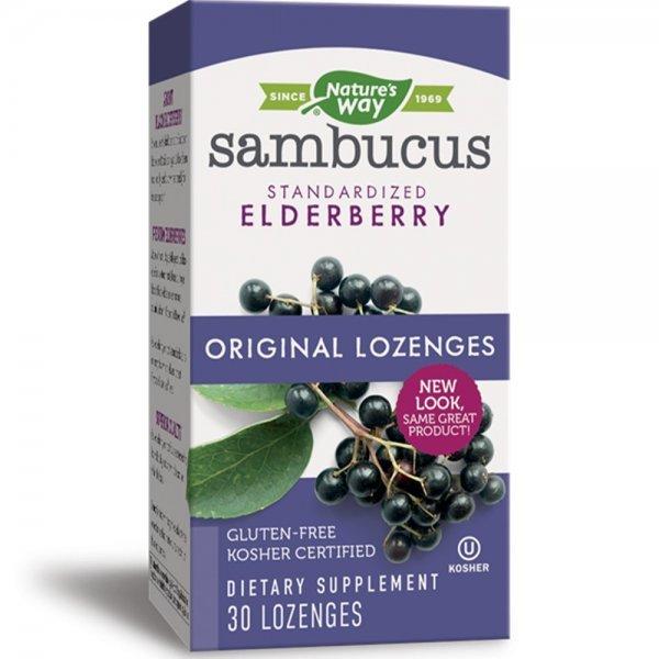 Nature's Way Sambucus 200 мг 30 таблетки14001