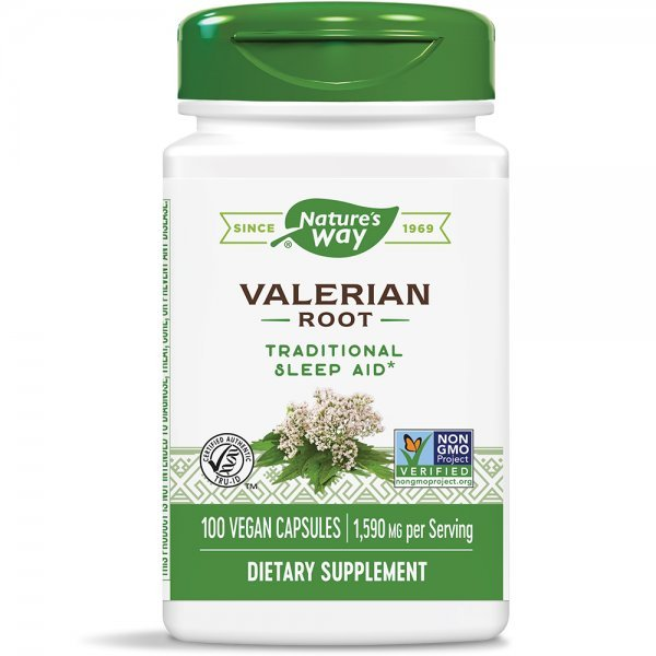 Nature's Way Valerian Root 530 мг 100 капсули17700
