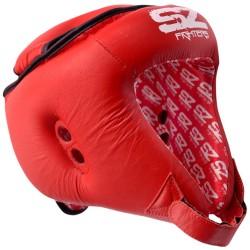 SZ Боксова каска за Муай Тай, червена