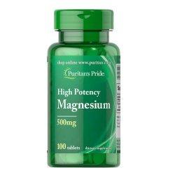 Puritan's Pride Magnesium 500 мг 100 таблетки