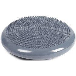 Масажен диск за баланс, 34 см, сив