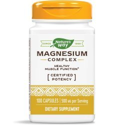 Nature's Way Magnesium Complex 250 мг 100 капсули
