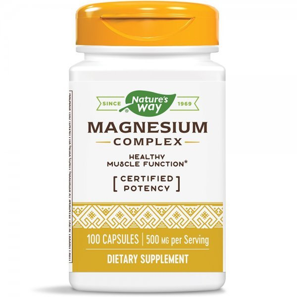 Nature's Way Magnesium Complex 250 мг 100 капсули41051