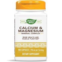 Nature's Way Calcium & Magnesium 250 мг 100 капсули